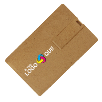 Recycled Card - Usb Carta di Credito